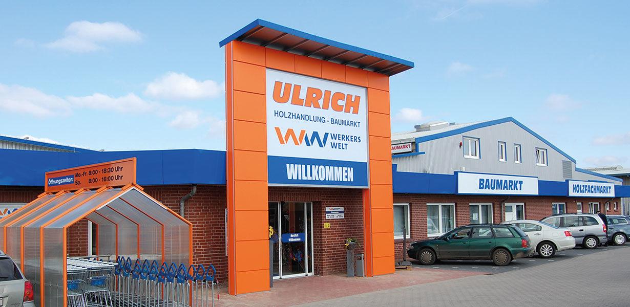 Unternehmen - Ulrich Holzhandlung - Baumarkt GmbH
